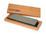 "8"" Diamond Whetstone™ Sharpener with Hardwood Box"
